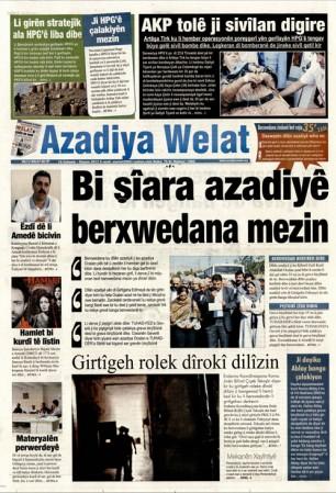16 ekim 2012 salı günlü gazete manşetleri