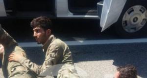 Suikast timindeki 3 asker böyle yakalandı