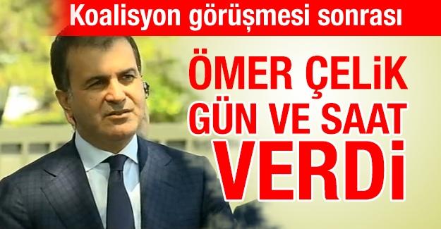 Koalisyon heyetinin Davutoğlu ile görüşmesi sonrası açıklama