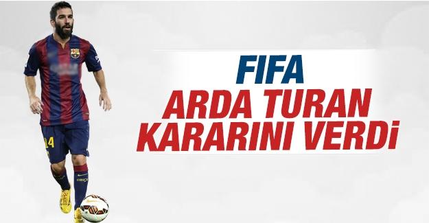 FIFA, Arda Turan hakkında kararını verdi