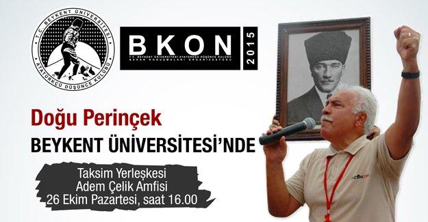 Doğu Perinçek, Beykent Üniversitesi'nde