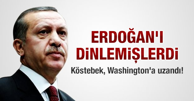 Köstebek, Washington'a uzandı!