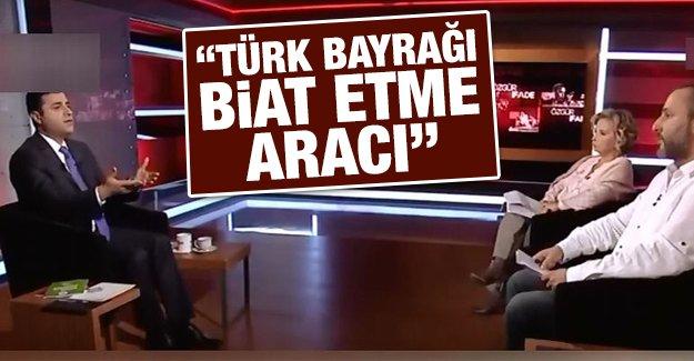 """""""Türk bayrağı biat etme aracı"""""""