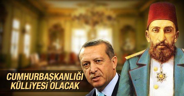 Abdülhamit'in yaptırdığı Yıldız Sarayı, Cumhurbaşkanlığı Külliyesi olacak