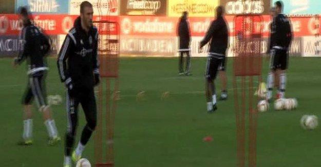 Beşiktaş, Lokomotiv Moskova maçı hazırlıklarını sürdürdü