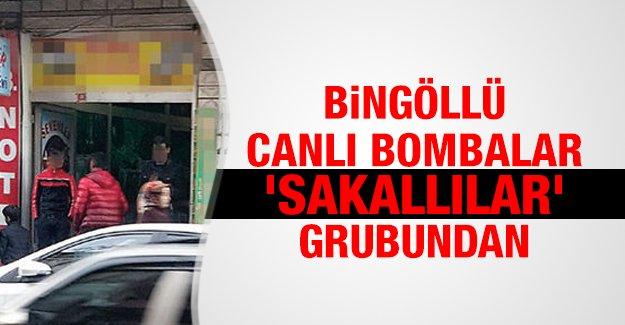 Bingöllü canlı bombalar 'Sakallılar' grubundan