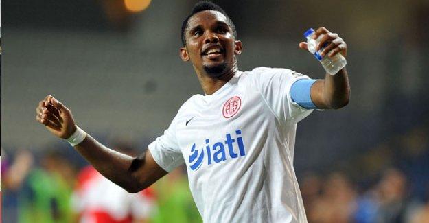 Eto'o, Antalyaspor'un kasasını doldurdu