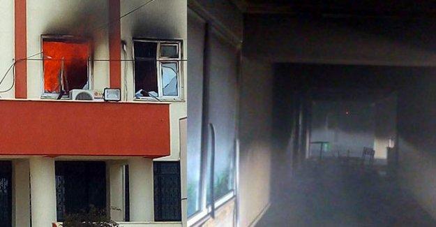 PKK'lı teröristler tarafından ikinci kez ateşe verildi