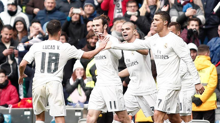 Real Madrid gol oldu yağdı