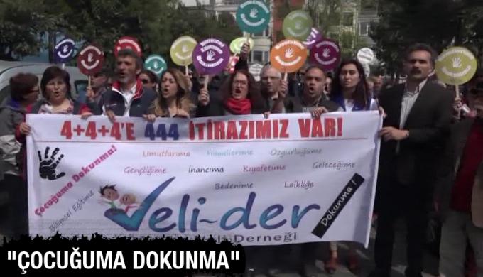 VELİ-DER çocuk istismarını ve 4+4+4 eğitim sistemini protesto etti