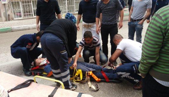 Yaralanan gencin imdadına vatandaşlar koştu