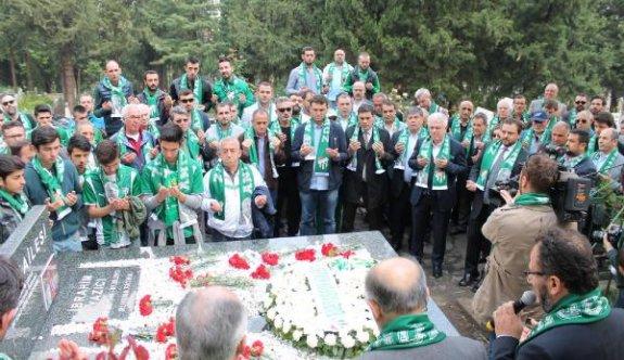 Bursaspor eski Başkanı İbrahim Yazıcı dualarla anıldı