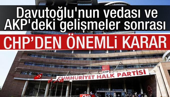 CHP, kurultayını erteledi