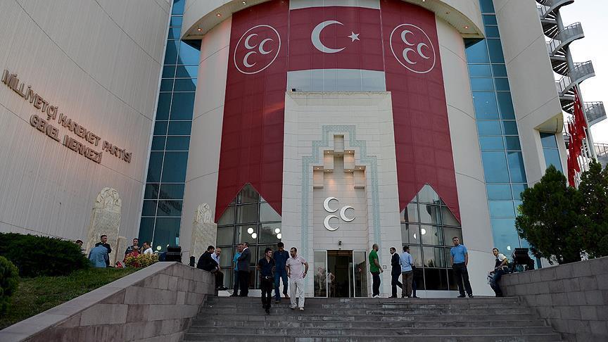 MHP Antalya teşkilatı görevden alındı