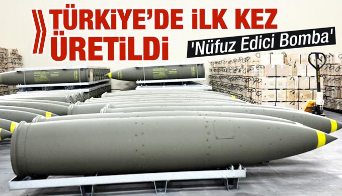 Türkiye'de geliştirilen ilk beton delici mühimmat NEB'in üretimi sürüyor