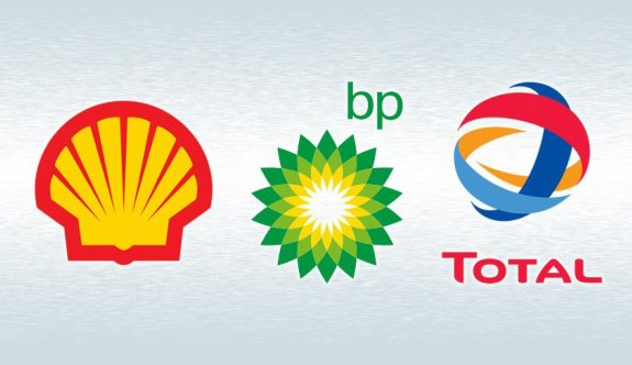 Shell, BP ve Total'in karı düştü