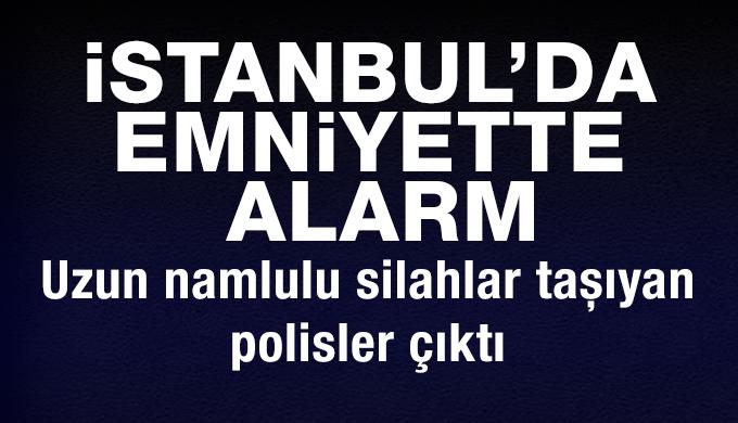 Vatan Emniyet'te önüne uzun namlulu silahlar taşıyan polisler çıktı