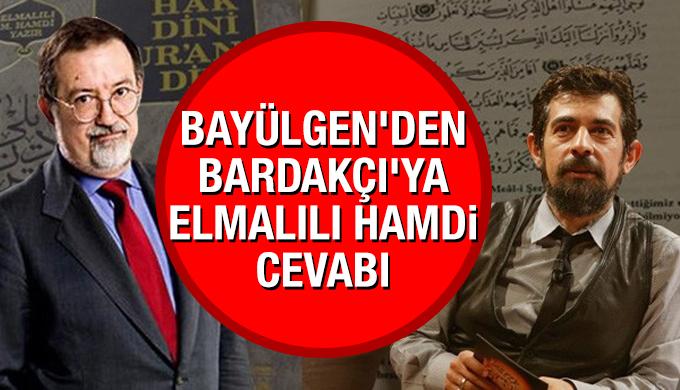 Okan Bayülgen'den Murat Bardakçı'ya Elmalılı Hamdi yanıtı