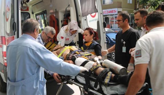 Av tüfeği imalathanesinde kaza: 4 yaralı