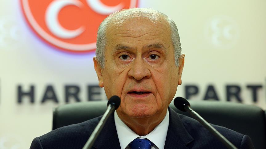 MHP Genel Başkanı Bahçeli: Darbecilerin geleceği varsa görecekleri de var