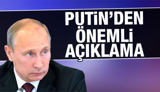 Putin: ABD terörist-muhalif ayrımı yapmıyor, teröristler tekrar gruplanıyor