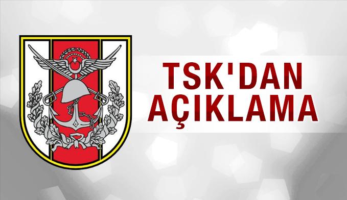 TSK'dan Fırat Kalkanı açıklaması