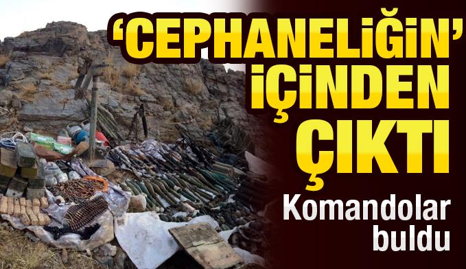 ABD ve İngiltere'nin en çok kullandığı silah PKK'dan ele geçirildi