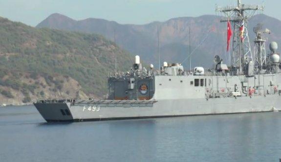 Mavi Balina-16 tatbikatı için gemiler limandan ayrıldı