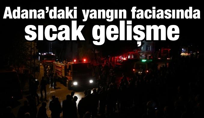 Adana'daki yangın faciasında gözaltına alınanların sayısı 14'e çıktı