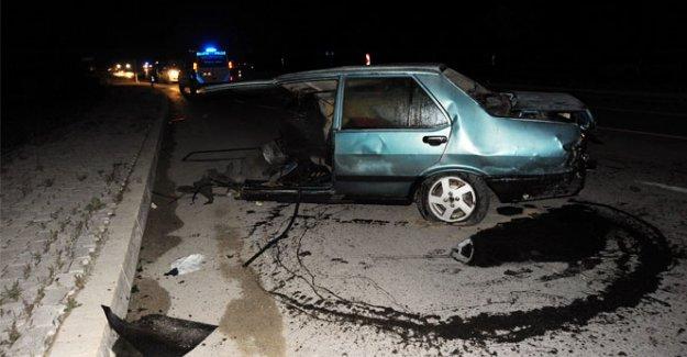 Afyonkarahisar'da korkunç kaza: 2 ölü