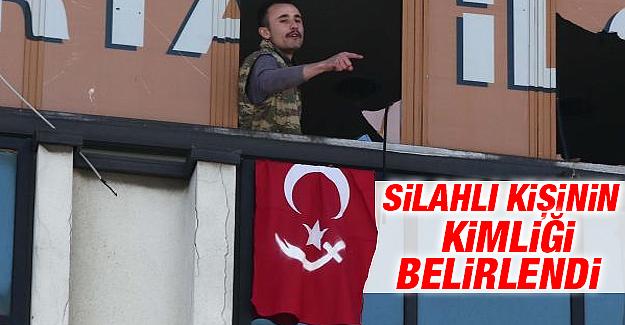 AKP binasına giren silahlı kişinin kimliği belirlendi