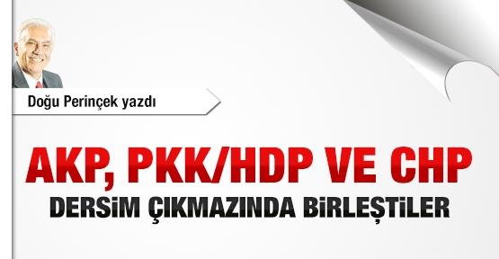 AKP, PKK/HDP ve CHP Dersim çıkmazında birleştiler
