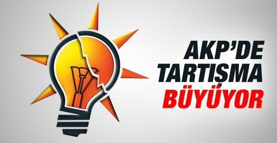 AKP'de tartışma büyüyor!