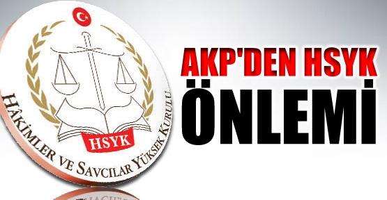 AKP'den HSYK önlemi