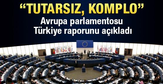 Avrupa Parlamentosu  Türkiye raporunu açıkladı