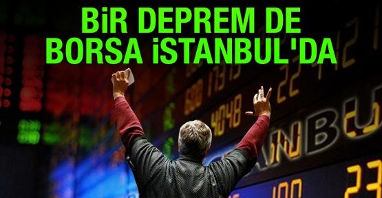 Bir deprem de Borsa İstanbul'da