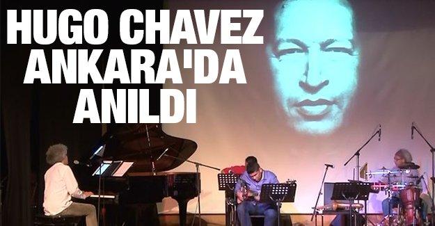 Chavez ölümünün 2. yılında Ankara'da da anıldı