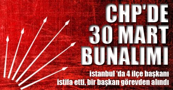 CHP'de 30 mart bunalımı