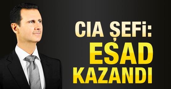 CIA şefi: Esad kazandı