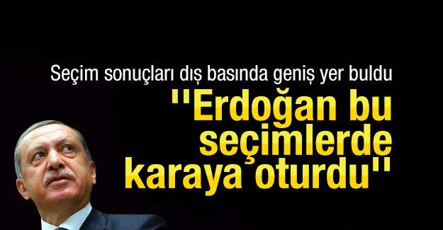 ''Erdoğan bu seçimlerde karaya oturdu''