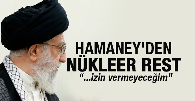 Hamaney'den nükleer rest