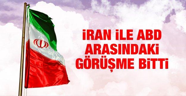 İran ile ABD arasındaki görüşme bitti