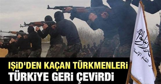 IŞİD'den kaçan Türkmenleri Türkiye geri çevirdi