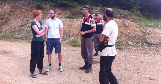 Ormanda kaybolan 2 alman turisti jandarma buldu
