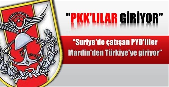 PKK'lılar bakın nereden Türkiye'ye giriş yapıyor!