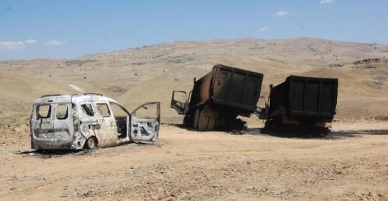 PKK'lılar karakol inşaatına saldırdı!