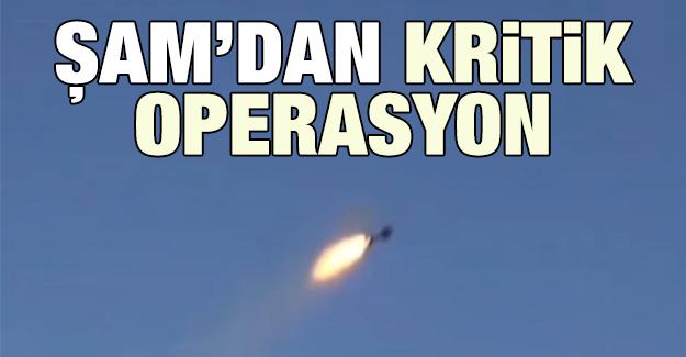 Şam'dan kritik operasyon!