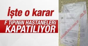 Şifa Üniversitesi'nin hastanelerine kapatma kararı