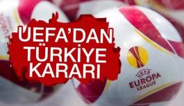 UEFA saygı duruşu yapılmayacağını...