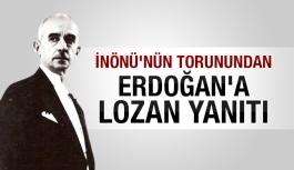 İnönü'nün torunundan Erdoğan'a...